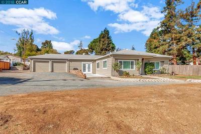 Martinez Single Family Home For Sale: 4620 Blum Rd