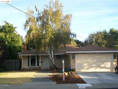Pleasant Hill Single Family Home For Sale: 931 Santa Cruz Dr
