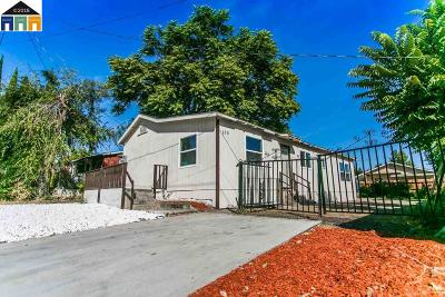 Antioch Single Family Home Back On Market: 210 Drake St