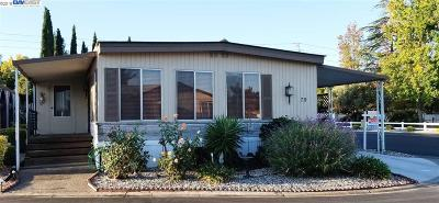 Pleasanton Mobile Home For Sale: 3263 Vineyard Ave., #79