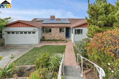 El Cerrito Single Family Home For Sale: 1349 Brewster Dr