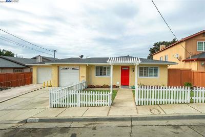 San Pablo Single Family Home For Sale: 1465 Yuba Ave