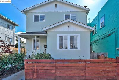 Oakland Single Family Home For Sale: 843 40th Street