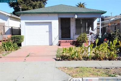 Richmond Single Family Home For Sale: 562 S 29th St