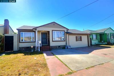 Richmond Single Family Home For Sale: 1515 Oscar St