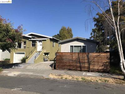 Berkeley Multi Family Home For Sale: 2327 Browning Street