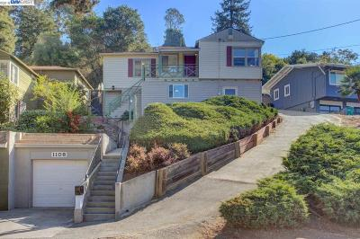 Oakland Single Family Home For Sale: 1108 Mountain Blvd