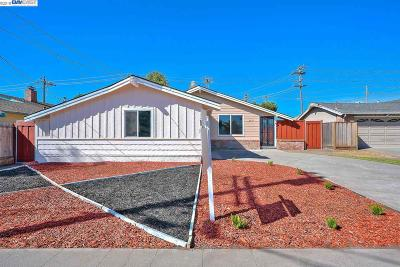 Hayward Single Family Home Price Change: 2381 Bermuda Ln