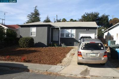 Vallejo Single Family Home New: 305 Hermosa Ave
