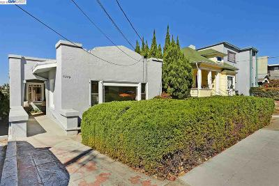 Oakland Single Family Home For Sale: 5359 Broadway