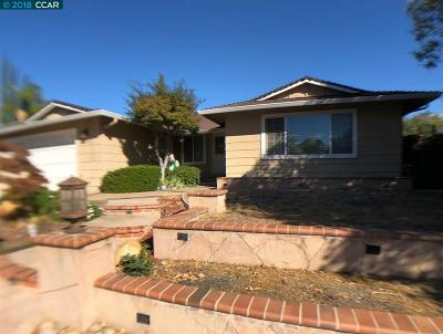 Martinez Single Family Home For Sale: 1737 Endriss Dr