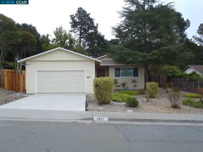 El Sobrante Single Family Home For Sale: 4817 Meadowbrook