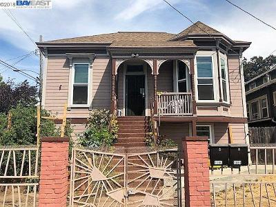 Oakland Multi Family Home New: 1084 30th St