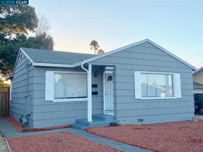Hayward Single Family Home New: 22661 Linden St.