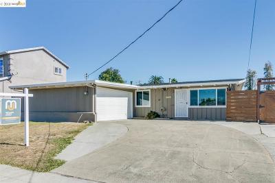 Hayward Single Family Home New: 27526 Coronado Way
