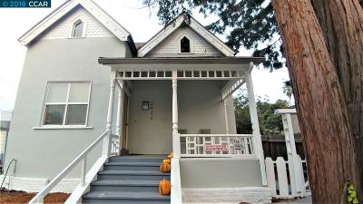 Berkeley Single Family Home New: 2909 Adeline St.