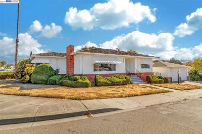 Castro Valley Single Family Home Pending Show For Backups: 22104 Cameron St