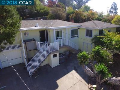 Pinole Single Family Home For Sale: 2577 Rafaela St