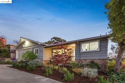 Oakland Single Family Home New: 8483 Ney Ave