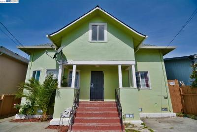 Oakland Single Family Home New: 1649 34th Ave