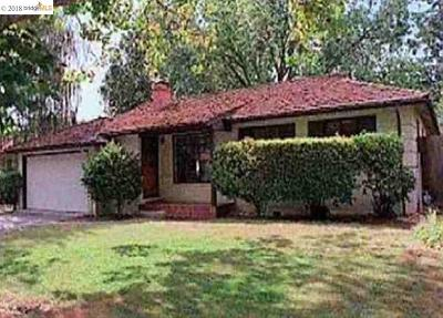 Walnut Creek Rental For Rent: 1919 Newell Ave