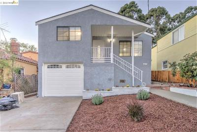 Oakland CA Single Family Home New: $899,000