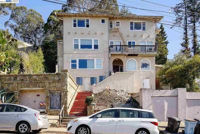 Berkeley Multi Family Home For Sale: 1015 Euclid Ave