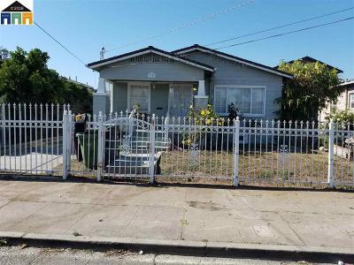 Oakland CA Single Family Home New: $445,000