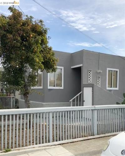 San Pablo Single Family Home For Sale: 1500 Emeric Ave