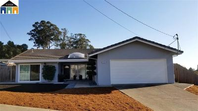 Hayward Single Family Home Pending Show For Backups: 3429 Bridle Dr