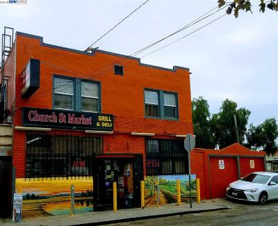 Oakland Multi Family Home For Sale: 1854 Church St