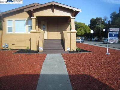 Oakland Single Family Home For Sale: 6334 Camden Street