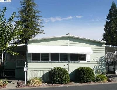 Pleasanton Mobile Home For Sale: 3231 Vineyard Ave., 145