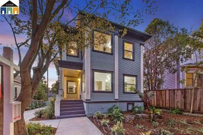 Berkeley Single Family Home For Sale: 1730 Martin Luther King Jr Way