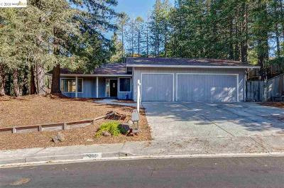 Moraga Single Family Home Active - Contingent: 208 Sandringham Dr