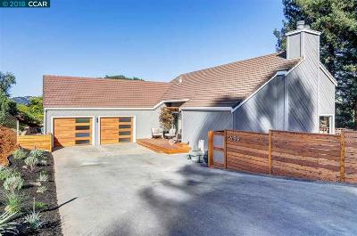 Lafayette CA Single Family Home Pending Show For Backups: $1,650,000
