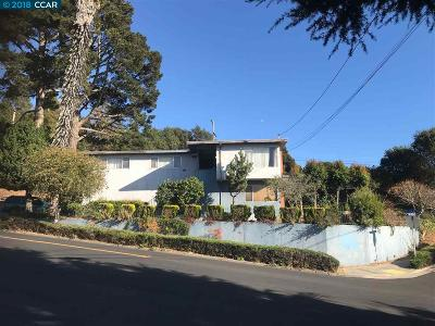 El Cerrito CA Single Family Home Price Change: $747,950