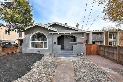 Oakland Single Family Home For Sale: 6930 Lacey Ave