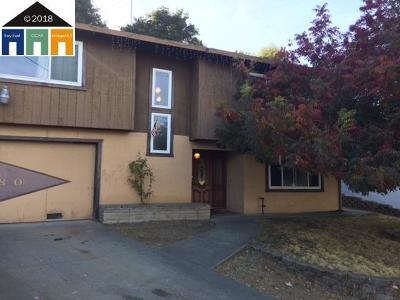 Pinole Single Family Home For Sale: 2180 Shea Dr