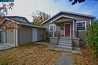 Martinez Single Family Home For Sale: 1307 Potter St