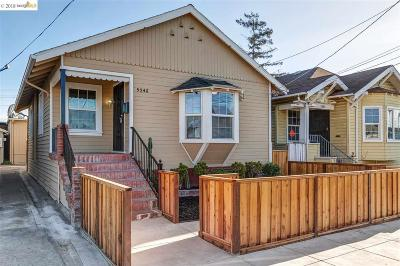 Oakland Single Family Home For Sale: 5546 E 16th St