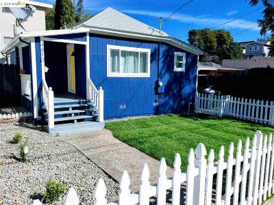 Oakland Single Family Home For Sale: 4410 San Carlos Ave.