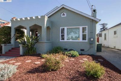 San Leandro Single Family Home Pending Show For Backups: 1552 Plaza Dr