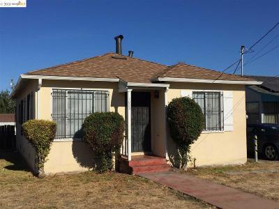 Oakland Single Family Home Pending: 1023 101st Ave
