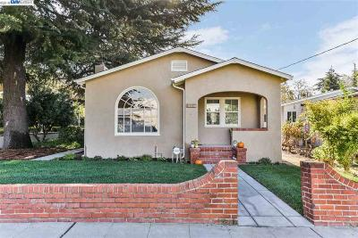 Concord Single Family Home For Sale: 2530 Bonifacio St