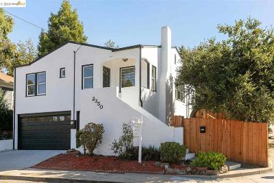Oakland Single Family Home For Sale: 2350 Courtland Ave