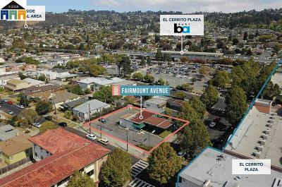 El Cerrito Residential Lots & Land Pending Show For Backups: 6501 Fairmount Avenue