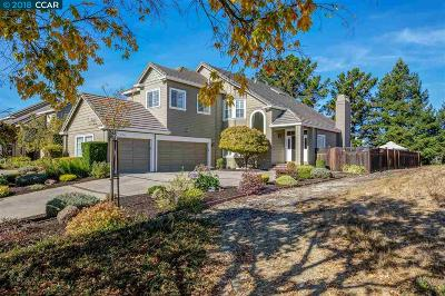 San Ramon Single Family Home Price Change: 278 Canyon Lakes Pl