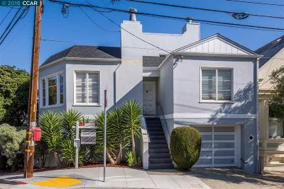 San Francisco Single Family Home For Sale: 296 Randall Street