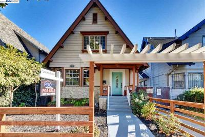 Oakland Single Family Home For Sale: 891 61st Street